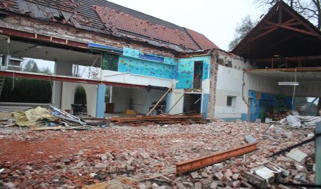De mr. Propschool in Lochem wordt gesloopt.