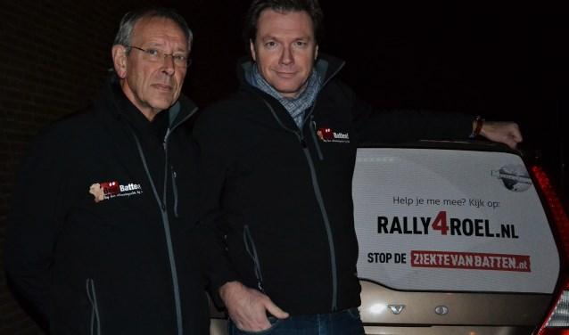 Cor en Ronald Jansen doen mee aan een bijzondere rally. Daarmee willen ze geld inzamelen voor de strijd tegen de ziekte van Batten.