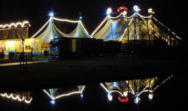 Vlaardinger Vincent Wols woonde de premiereavond van het kerstcircus bij en verwonderde zich over de indrukwekkende acts. Het circus is nog tot 7 januari te bezoeken. (Foto: Vincent Wols)