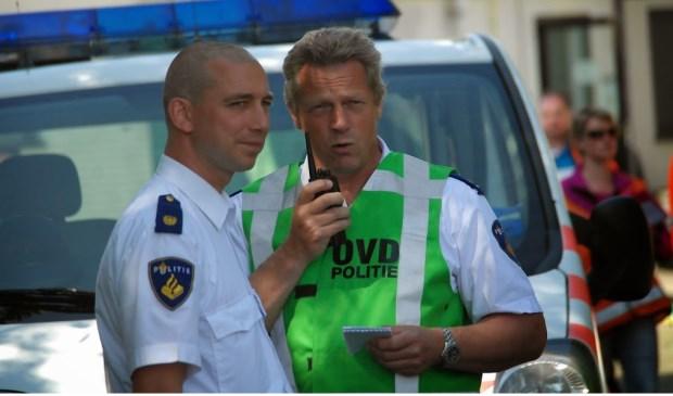 Ruud van Es (r) wordt per 1 januari 2018 de nieuwe teamchef politie Gouda/Bodegraven-Reeuwijk.