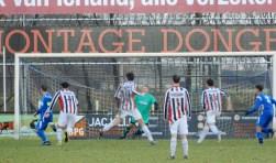 SV Capelle heeft zaterdag een zwaarbevochten zege op Willem II behaald: 1-0. Foto: MW Fotografie