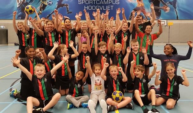 De jeugd van korfbalclub Nikantes heeft zin in 2018.