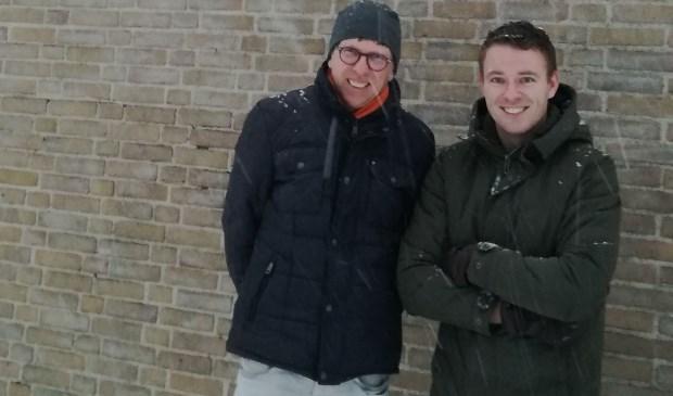 Coen Koenders en Joost Eggink.