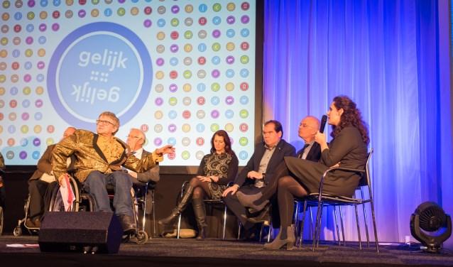 Yolanda Bos ging namens de gemeente Aalten naar de conferentie Gelijk is Gelijk in Utrecht. Het was nog een hele toer om er te komen.