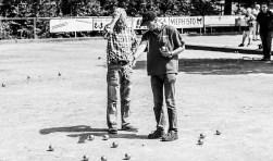 'Een beetje bouler speelt petanque' (fotografie: DBC Karrodeux)