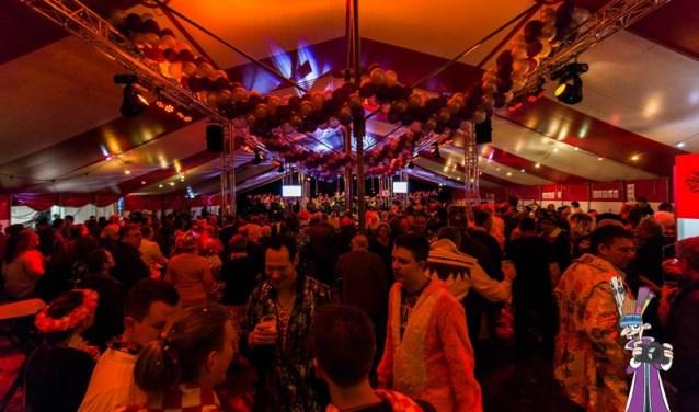 Het belooft drukker te worden dan in het afgelopen jaar, in de grote tent op De Plaatse tijdens Luidkeels.