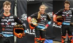 De leden van het talententeam Kris Kuiper, Yvette de Waard en Joesry de Groot.