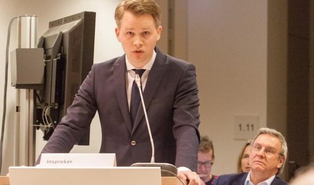 VVD_fractievoorzitter Bart Porskamp dient motie van wantrouwen in tegen wethouder Van Uem