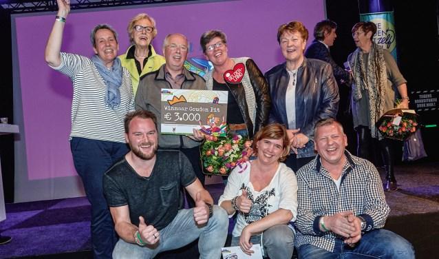 Het winnende team van Kern met Pit 2017 uit Netterden. (foto: John Voermans)