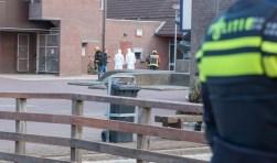 De Vromade is afgezet nadat vrijdag rond 4.30 uur de geldautomaat is opgeblazen.