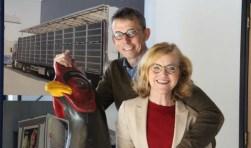 Dick van Ravenhorst en Marijke van Harskamp.