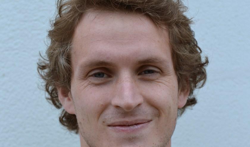 Cas Bekken van VV Terborg scoorde tweemaal. (foto: Gerrit van Dijken, Magerago Foto)