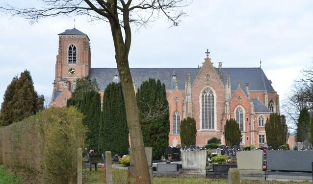 De Sint Guibertus parochiekerk in Schilde. Schilde, in 2008 uitgeroepen tot meest aangename gemeente van Vlaanderen, heeft haar oog laten vallen op Bodegraven-Reeuwijk.