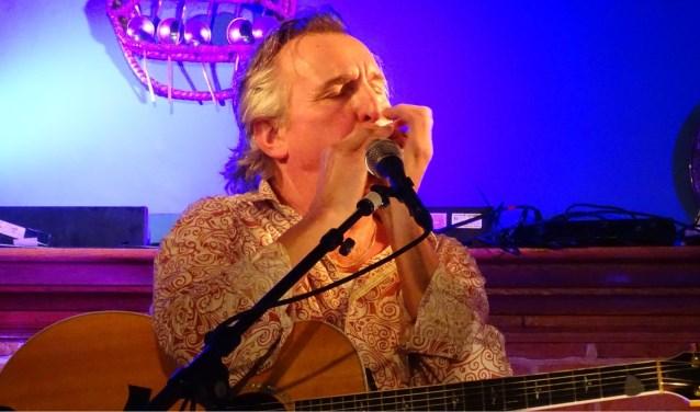 Jan Ottink, een van de deelnemers aan het dialectfestival Plat Gespöld.