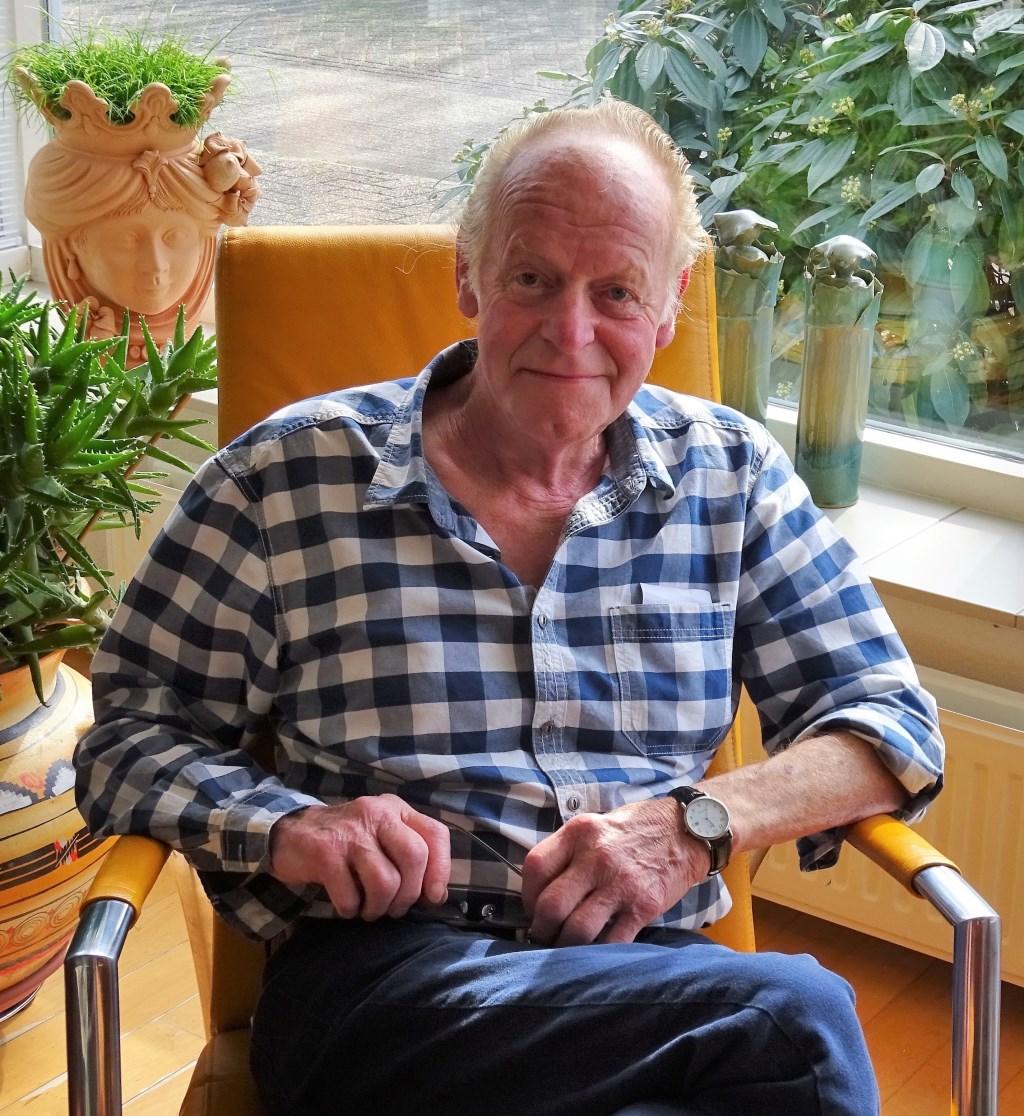 Gerrit van Ginkel, 40 jaar lid Wijks Vocaal.  © Persgroep
