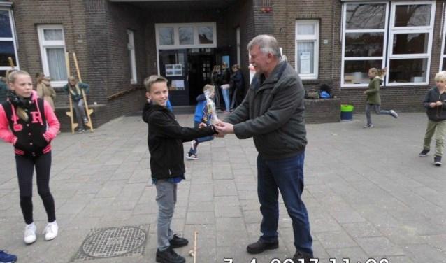 Winnaar van het tolkampioenschap is geworden Hannes Domhof van de Timp.