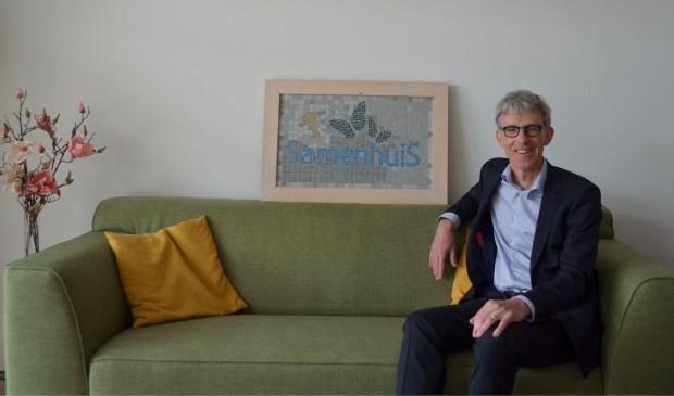 Rudi Overmars, voorzitter van de stichting SamenhuiS.
