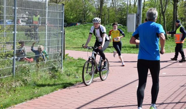 afvallen fietsen of rennen