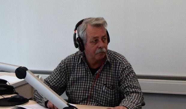 Roel van Olst op zijn stekkie in de studio aan het Dokterspad in Zwolle.