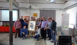 De deelnemers aan de European Iron Academy. (foto: PR)
