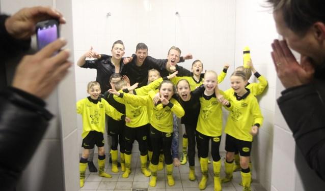 De kampioenen van UNA JO9-4