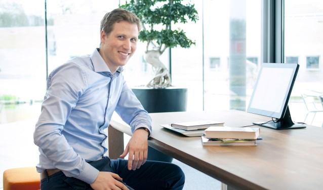 Erik Veurman, hoofd Industrieel Ontwerp van Nedap Library Solutions. Foto: Nedap