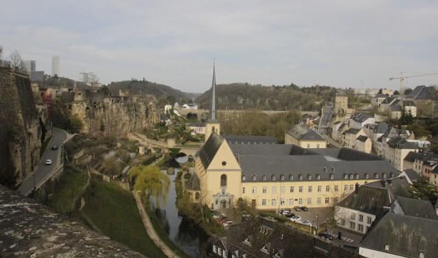 Het vrouwennetwerk Duitsland-Nederland bezocht de stad Luxemburg waar de jeugd een bijzondere positie heeft gekregen in de ontwikkeling van de stad. Foto: Eveline Zuurbier