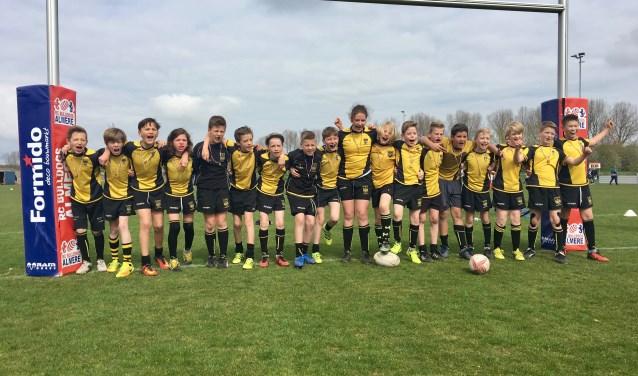 Minis rugbyclub eemland door naar nederlands kampioenschap