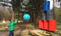 Een aantal scouts van Scouting Boxtel zijn tijdens Pasen op kamp geweest.