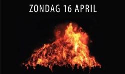 BurgemeesterAndries Heidema komt zondagavond 16 april, op eerste paasdag, naar Schalkhaar om rond 20.30 uur het jaarlijkse paasvuur aan te steken.