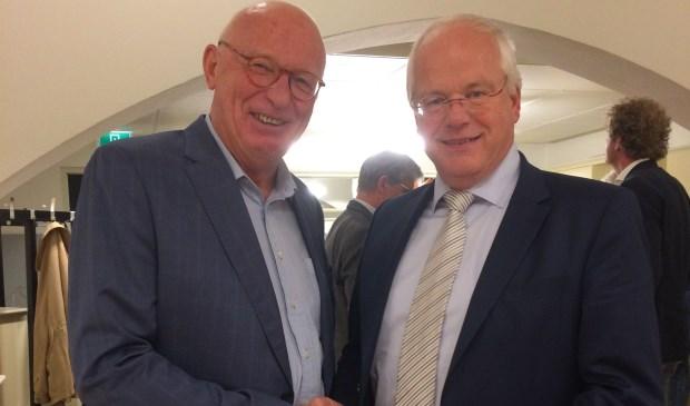Jan Bernard Wolters (links) en Marcel Fluitman.