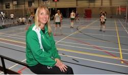 "Crista Pol: ""Volleybal was en is mijn grootste hobby."" (FOTO: RINIE BOON)"