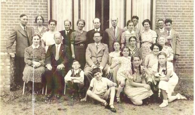 De familie Cohen in de Sandrasteeg, 1939
