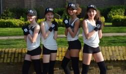 Eén van de drie groepen van Dansschool Danceprofs uit Maarssen die meedoen aan het Nederlands Kampioenschap.