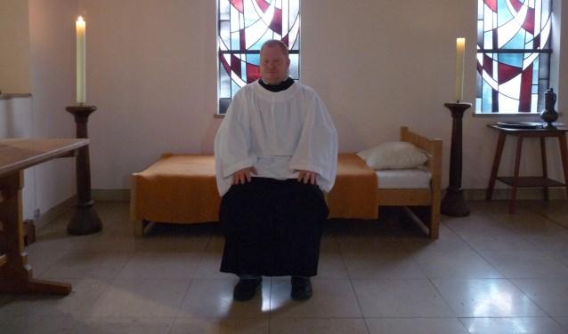 Franciscus zal ook als suppoost de gasten van de tentoonstelling welkom heten en, als mensen dat willen, rondleiden en vragen beantwoorden