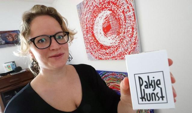 Neeltje Verhagen brengt Pak Je Kunst naar Eindhoven. Foto: Bert Jansen