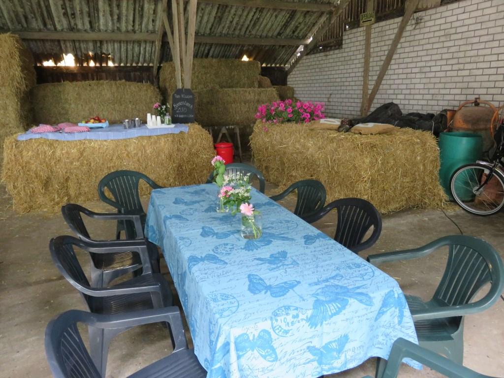Schuif aan bij de boer om gezamenlijk te lunchen! Foto: ZLTO © Persgroep