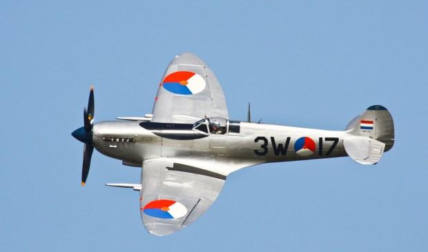Deze D-Day veteraan,  een Spitfire, heeft daadwerkelijk aan de gevechten tijdens D-Day deelgenomen.