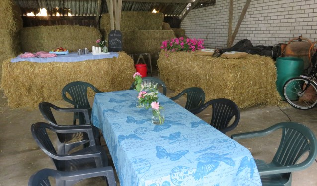 Schuif aan bij de boer om gezamenlijk te lunchen!