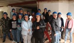 De toekomstige bewoners namen afgelopen zondag een kijkje in hun TICOhuis in het centrum van Oosterhout. De bouwactiviteiten zijn in volle gang.