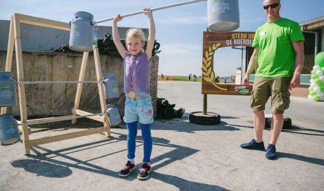 Voor kinderen is er tijdens 'Beleef de boerderij' van alles te beleven.
