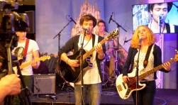 De band Cookhouse met de Goudse broers Ronald en Jeroen Hendriksen (op de foto in een andere samenstelling) is geselecteerd voor Popronde 2017. Foto:Marianka Peters