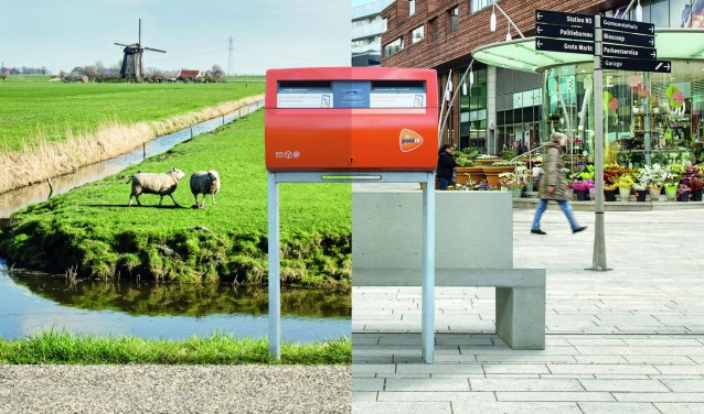 21 brievenbussen blijven, 19 verdwijnen er en er komen er 2 nieuwe bij in Veldhoven.