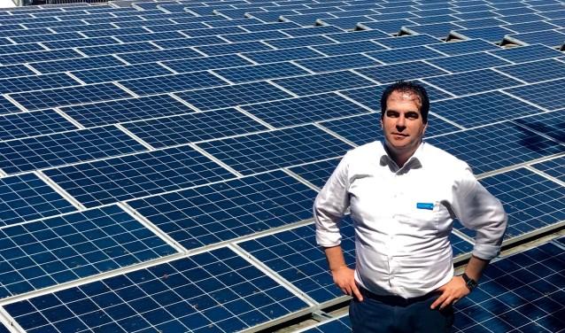 Mark van de Vogelpoel: ''We wekken alle benodigde energie zelf op.''