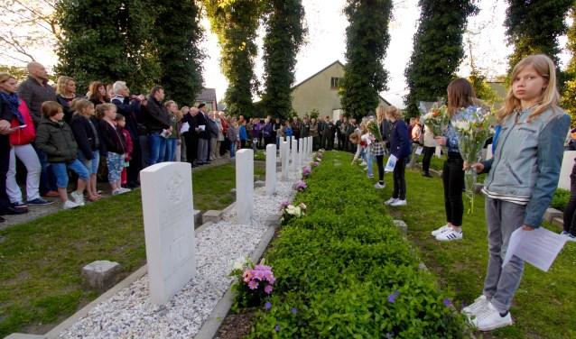 Dodenherdenking in Lichtenvoorde. Foto: Eveline Zuurbier