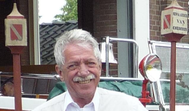Rumy van den Heuvel is 69 jaar geworden. Hij was een bekend gezicht in Linschoten. (Tekst: Janneke Severs-Hilgeman; archieffoto)