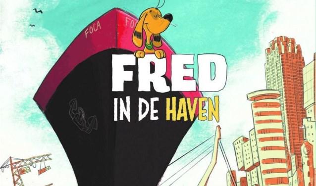 Fred is een trouw hondje dat allerlei spannende avonturen beleeft in de Rotterdamse haven.