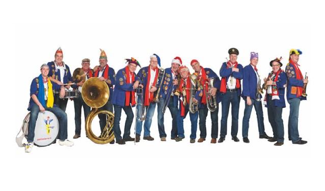 De Klooiers uit Oss zijn weer van de partij op de Dweilorkestendag in Groenlo. Foto: pr