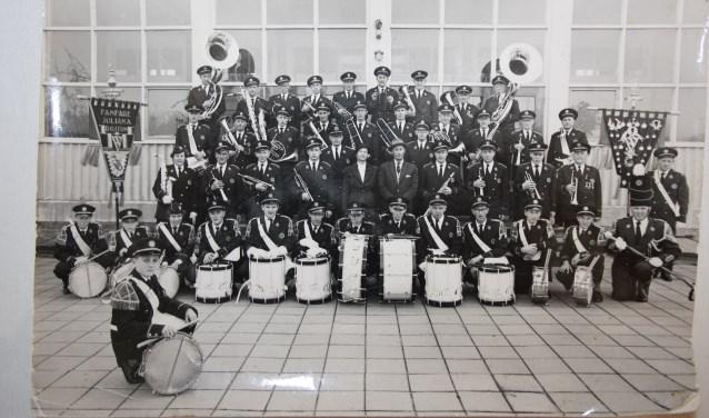 Een foto van Fanfare Juliana uit het archief.