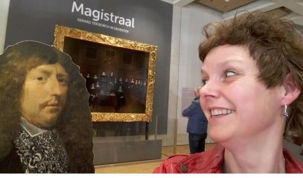 Maak een selfie met Gerard ter Borgh.